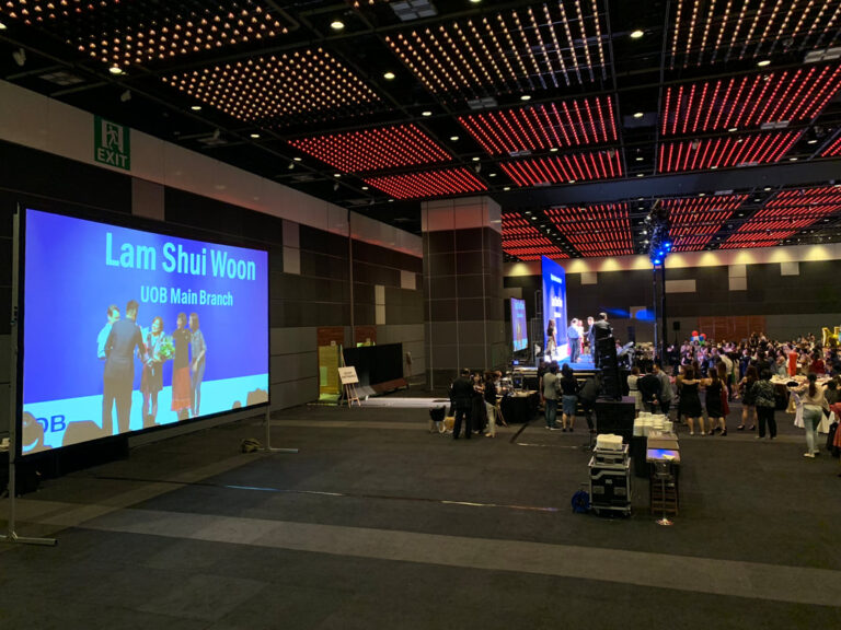 Projector and Screen Rental Singapore