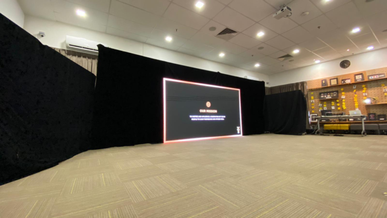Led Video Wall Rental for Halogen Foundation Singapore